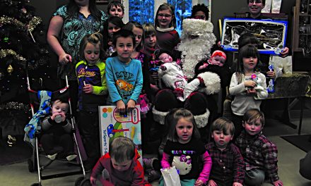 Santa visits Otter Lake