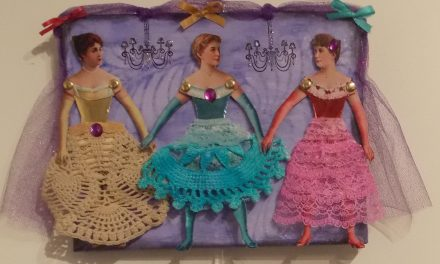 Patti Delano showcases her unique artistic creations at Old Forge Library