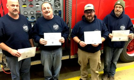 2015 was a busy and successful year for training at the Inlet Fire Department