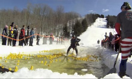 Lucky duckies to aid ski patrol