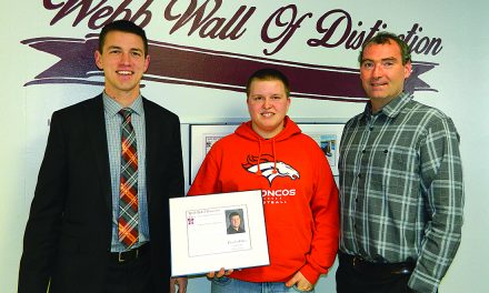 Palmer nominated for Webb Wall of Distinction
