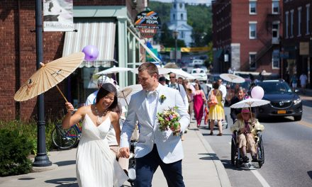 Osterhout and Brakeley wed in Vermont