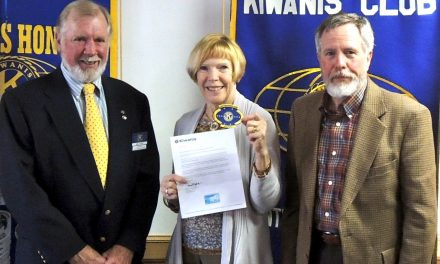 Kiwanis recognized as distinguished club
