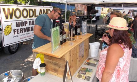 New brewery makes debut at Old Forge Farmer's Market