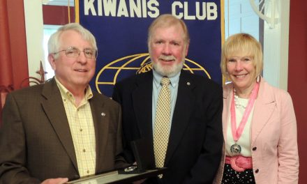 Ray Schoeberlein recognized as a Kiwanis Walter Zeller Fellow