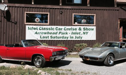Cruise into Inlet for the classic car show