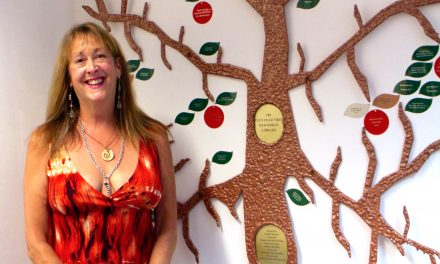 Donor Tree unveiled at Old Forge Library