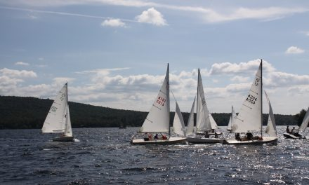 Sailors race despite light winds