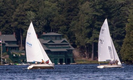 Sailors enjoy beautiful day on the water