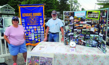 Kiwanis participates in Old Forge Farmers Market
