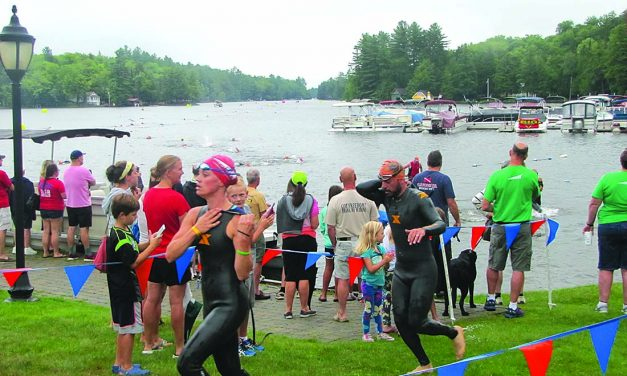 Fifth annual Old Forge Triathlon takes place in town