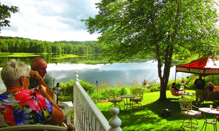 A Garden Party at Moose River House B&B