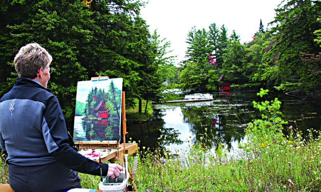 Plein Air Paint Out and Art Auction on tap