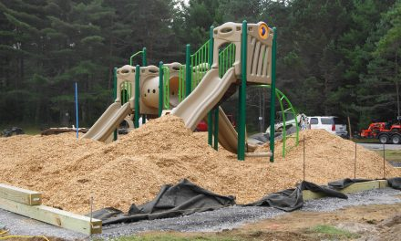 Dutch Hill ball field in Forestport gets a new playground