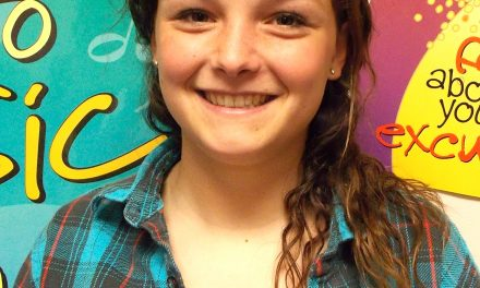 Mara Gaffney Student of the Month for October