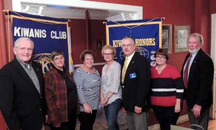 Kiwanis installs officers for 2015-16