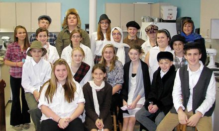 Eighth graders recreate immigration experience