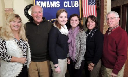 Kiwanis recognizes October and November Students of the Month