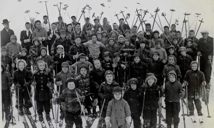 Skiing from yesteryear
