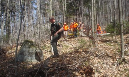 Rangers search and rescue