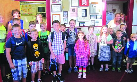 Students come back to Inlet Common School