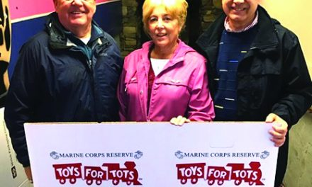 Kiwanis and Marine Corps Reserve partner for Christmas for Kids project