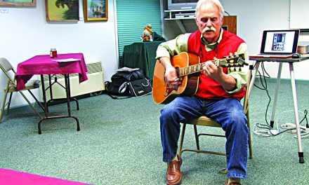 Open Mic Night  at the Old Forge Library,  another soul-satisfying session