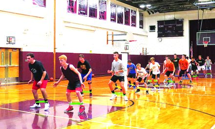 Basketball clinic at TOW