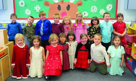 Eager for Christmas: Local kindergartners  excited for Santa