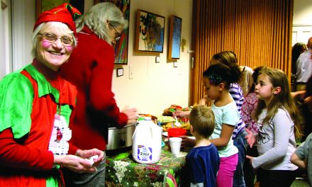 Old Forge Library holds annual Family Christmas Party