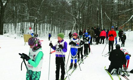 Polar Bears compete in cross country race
