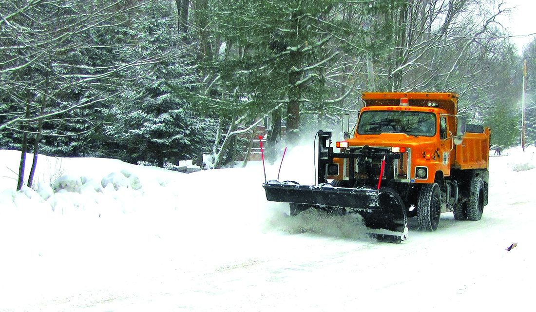 TOW Highway Department works hard during the winter
