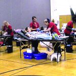 Webb's National Honor  Society holds blood drive