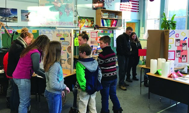 Inlet students participate in the annual science fair