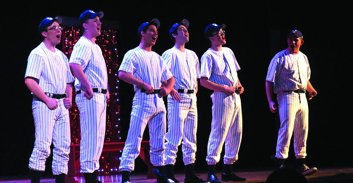 Webb's Drama Dept. performs This is Broadway