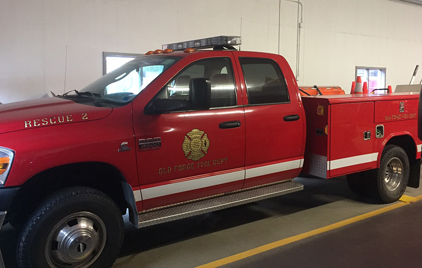 OFFD seeking donations  towards new rescue truck