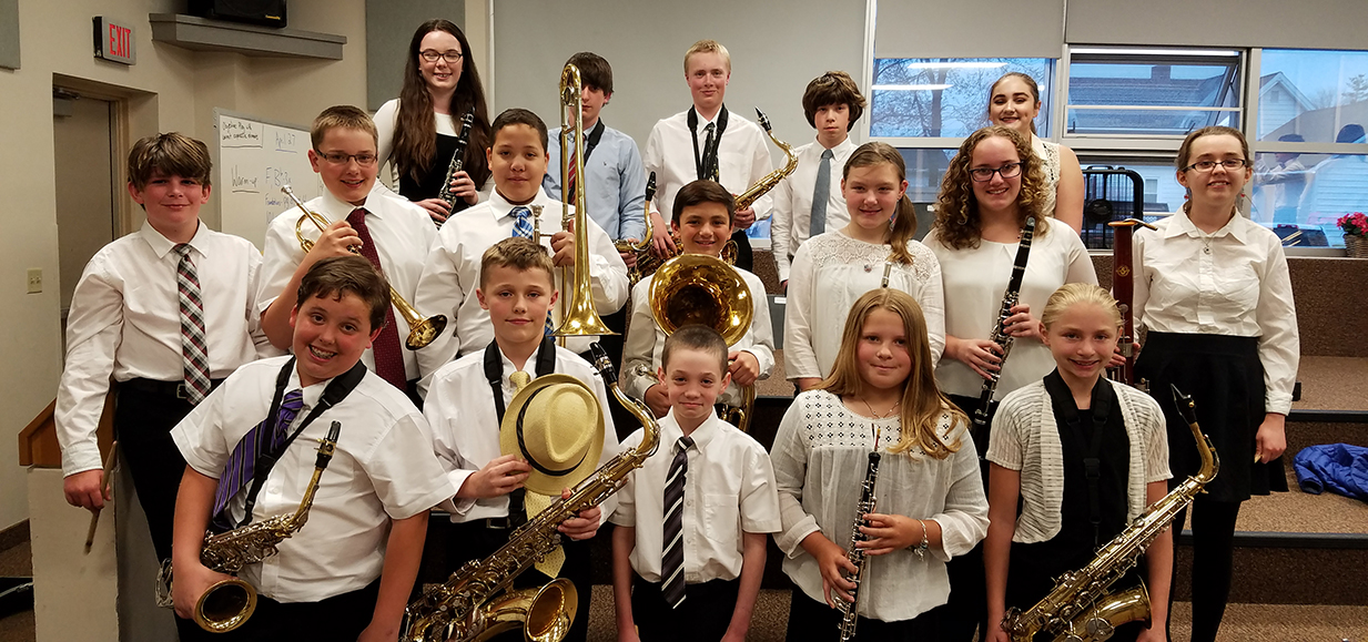Students perform at NYSSMA