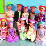 Graduation  day for  Kinderwood