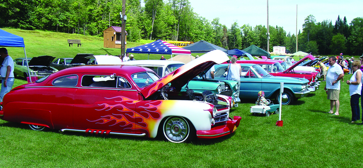 Car show rolling into Old Forge