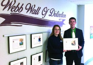 Laura Rubyor added to the Webb Wall of Distinction