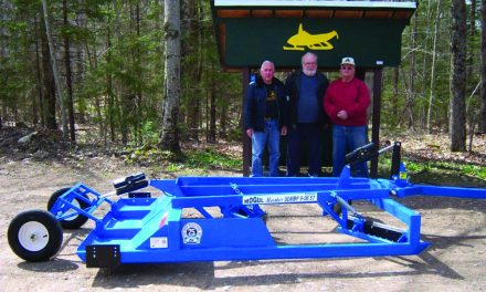Barnstormers get new snowmobile trail equipment