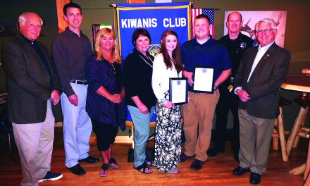 Beckingham and Palmer recognized as Kiwanis/PBA Students of the Year