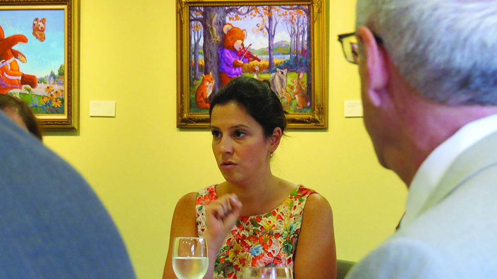Congresswoman Stefanik holds meeting at View