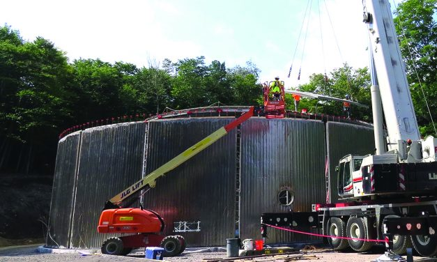 Maple Ridge Water Tower project on schedule
