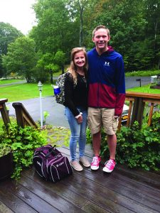 Photo submitted Britney Levi starts her junior year and Shawn Hansen is a senior this year.