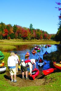 Photo submitted Come paddle for a good cause in the gorgeous autumn mountains.