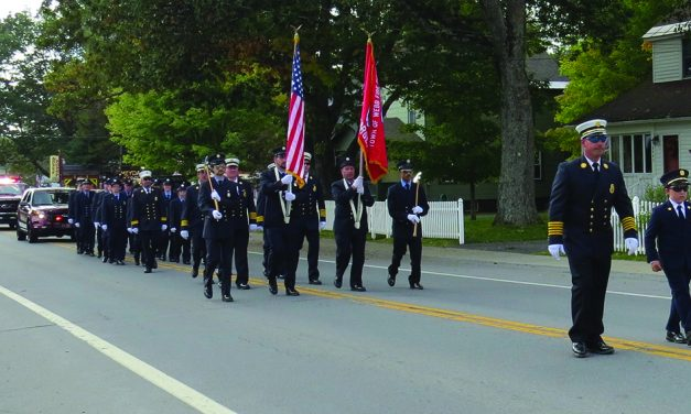 Parade highlights 51st annual Firefighters Drill School