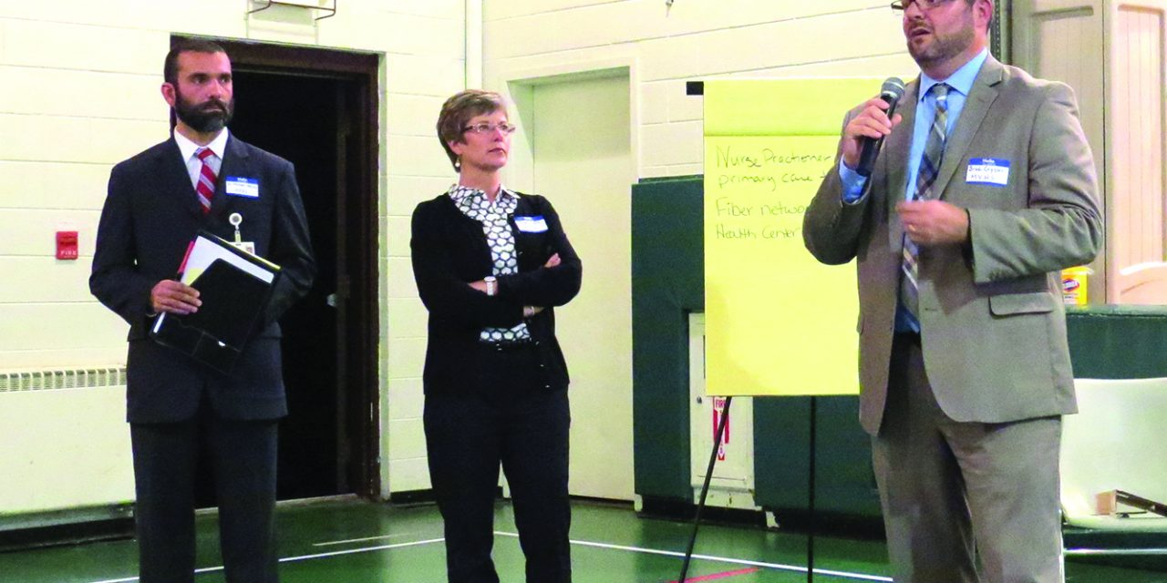 Community expresses concerns about healthcare