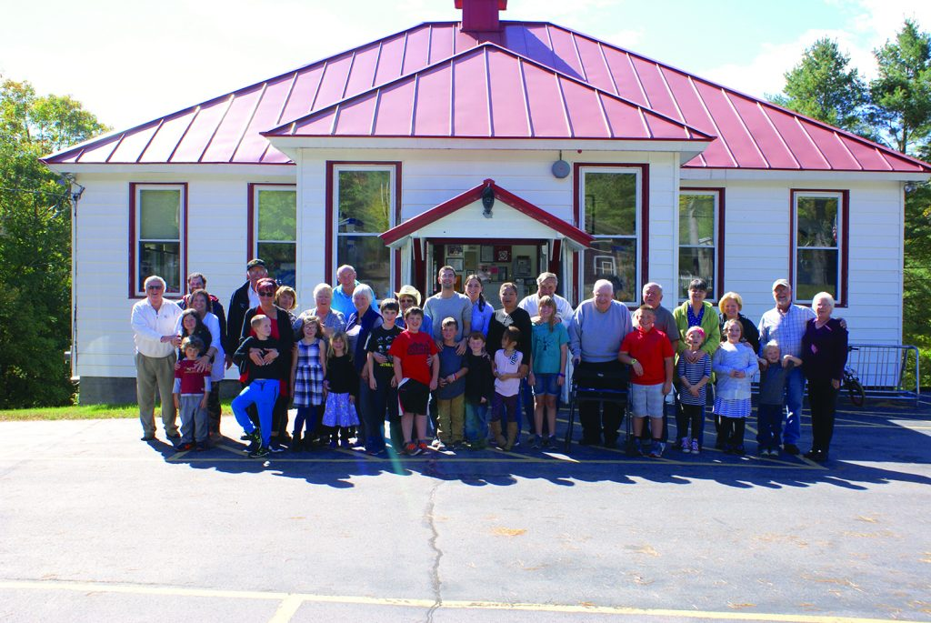 Photo submitted Grandparents and grandkids have fun at Inlet Common School being together on Grandparents Day.