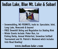 Indian Lake, Blue Mt. Lake & Sabael
